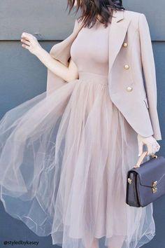 Tulle Maxi Dress
