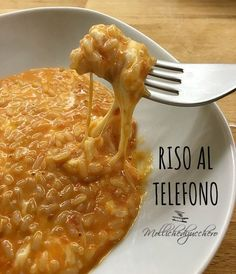 Risotto Recipes, Rice Recipes, Pasta Recipes, Salad Recipes, Cooking Recipes, Paella, Mozzarella, My Favorite Food, Favorite Recipes