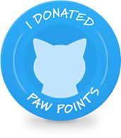 Thanks to this Paw Points donation, Humane Society of Greater Dayton was 440 points closer to their goal of 5,000 points.