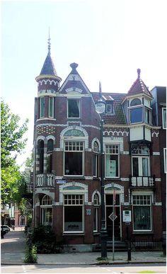 Utrecht, The Netherlands. I'm thinking gingerbread house template! Utrecht, Rotterdam, Amsterdam City, Amsterdam Netherlands, Leiden, La Haye, South Holland, House Template, The Hague