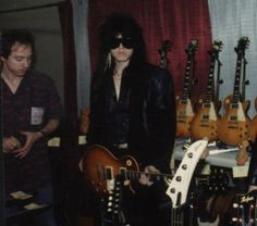 Gibson Les Paul and TOM KEIFER <3
