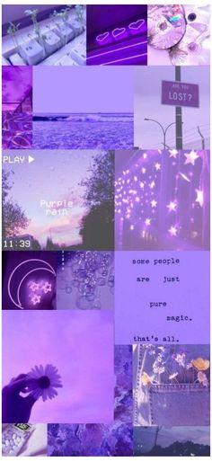 wallpaper background aesthetic purple