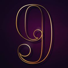 #36days_9 #36daysoftype #36days #36daysoftype_9 #9 #number9 #gold #purple #letter #number #elegant #luxury #shiny #illustration #illustrationart #illustrator #lettering #typo #type #lekrado #krado #calinradu #calin by lekrado