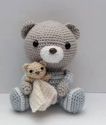Risultati immagini per orsetto crochet