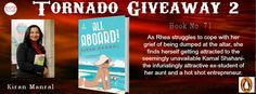 When Rhea Khanna is dumped just days before her wedding, Will Rhea heal her broken heart, or will she end up even more shattered than she was when she got on this cruise? Read, to find out. #TornadoGiveaway #thebookclub