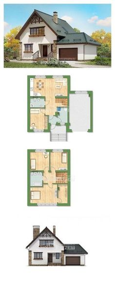 Super House Architecture Modern Vacation Ideas - # Vacation Homes . Super house architecture modern vacation home ideas – # Cottages House Layout Plans, House Plans One Story, New House Plans, Dream House Plans, Small House Plans, House Layouts, Cottage Floor Plans, Country House Plans, Modern Floor Plans