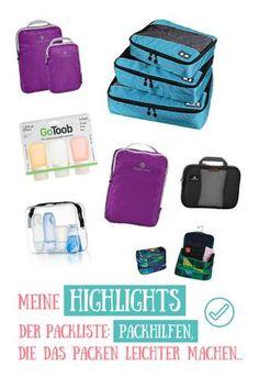 Mit diesen #packhilfen wird das Packen zum Kinderspiel! Auf welche verzichtest Du nicht mehr? #frauenreisensolo #frauenreisenweiter