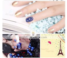 ¿Qué te parece de este estilo de uñas por LightInTheBox ? Encuentra ese esmalte en nuestro sitio.
