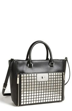 MICHAEL Michael Kors 'Natalia - Large' Leather Tote (Save Now through 12/9) available at #Nordstrom