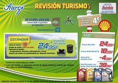 Oferta Rebajas (13 de enero al 06 de marzo 2015) - Revision Estándar (cambio del filtro de aceite). Más información en www.aurgi.com/