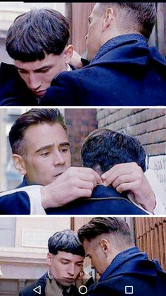 i find this truly heartrbreaking, bc graves looks really concerned for this kid and tries his best to care for him. later u see how much Credence loved graves, and them u watch him fall apart. sadness.