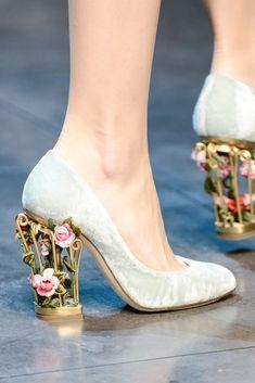 fashioninquality:    Shoe Porn at Dolce & Gabbana Fall Winter 2013 | MFW