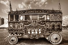 Circus Wagon America by johndecember, via Flickr