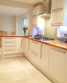 29 best cream gloss kitchen images modern kitchens new kitchen rh pinterest com