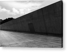 Close up structure of modern building. Grey material Acrylic Print by Denys Siryk Thing 1, Acrylic Sheets, Modern Buildings, Clear Acrylic, High Gloss, Close Up, Fine Art America, Grey, Outdoor Decor
