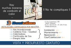 RualClima Mantenimiento, Reparacion, Instalacion y Gas/Calefaccion + Calderas, Calentadores, Certificados de Gas, Energia Solar, Aire Acondicionado en Madrid