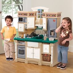Step2 Dream Kitchen 736300 | Step2 Play Kitchens and Toy Kitchens http://www.activitytoysdirect.com/step2/dream-kitchen/p2