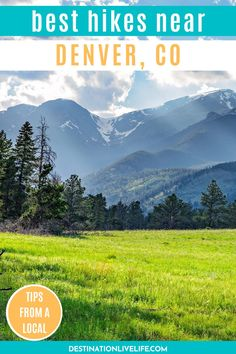 The state of Colorado is known for having tons of incredible hiking trails. But if you're staying in Denver, you may not want to travel TOO far. Click here to read about the best hiking near Denver. Denver Hikes l Denver Hikes Summer l Denver Hiking l Denver Hiking Trails l Hiking Near Denver l Hiking Near Denver Colorado l Hiking Trails Near Denver l Best Hiking Trails Near Denver l Hiking Near Denver CO l Hiking in Denver l Denver Hiking Trails #Denver #Colorado #DestinationLiveLife Visit Colorado, State Of Colorado, Colorado Hiking, Denver Colorado, Denver Hiking, Hikes Near Denver, Denver Travel, Red Rock Amphitheatre, Denver City