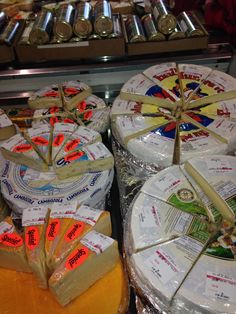 cheese St Lawrence Market, Dairy, Gift Wrapping, Healthy Recipes, Cheese, Gifts, Food, Paper Wrapping, Health Recipes