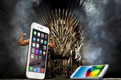 """WWIV: Apple vs Samsung (iPhone vs Android): iPhone 6 is KILLING Galaxy S6! Cult of Android article! 2015-05-22 •Samsung's """"iPhone killer"""" (S6) kills itself! ; ) Karma's definitely a Bitch ; ) S6 was supposed to reverse S5 but made it worse: total 10M units sold (S5 11M) in lifetime vs iPhone6 in 1 week! •All S6 Edge differentiators fall back to hardware / no value-added to previous experience •Sam losing over Apple / China's Xiaomi + Huawei"""