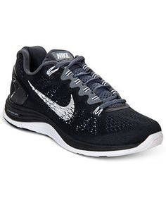 finest selection 82a68 3989e Nike Women s Lunarglide+ 5 Running Sneakers from Finish Line - Sneakers -  Shoes - Macy s Running