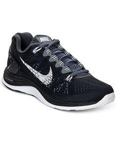 e8b2a2a5b1d6ba Nike Women s Lunarglide+ 5 Running Sneakers from Finish Line - Sneakers -  Shoes - Macy s Running