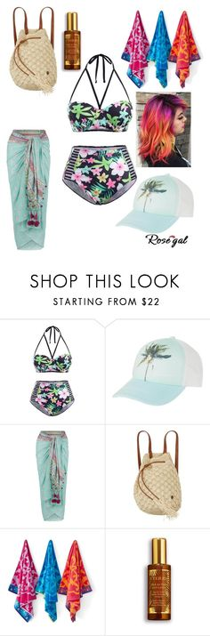 """""""kitty creations"""" by willow-bilbrey ❤ liked on Polyvore featuring Billabong, Monsoon, Sky and By Terry"""
