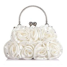 Just ordered this for the wedding. Emour Women Satin Rose Rhinestone Pure Color Handbag Even... https://smile.amazon.com/dp/B01CCBIMFO/ref=cm_sw_r_pi_dp_x_aRrdyb3MBPQRF