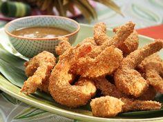 Macadamia Coconut Shrimp recipe from Patricia Heaton Parties via Food Network