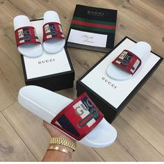 Slides/Sandals – The Three Jays Cute Sandals, Sport Sandals, Slide Sandals, Adidas Sandals, Hype Shoes, Gucci Shoes, Versace Shoes, Versace Men, Valentino Shoes