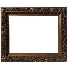 Museum Quality 19th Century Hand-Carved and Gilded Frame (86,770 PEN) ❤ liked on Polyvore featuring home, home decor, frames, borders, picture frame, outdoor home decor, wood picture frames, hand carved wood frames, portrait picture frames and wooden picture frames