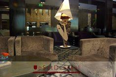 #UpsetBlitz #GoldenPalace #Turin - #UpsetDesign #desk #lamp: #LOLA by #Lucifero #Illuminazione - #light #lamps #lampada #lampade #interior #design #interior_design #home #decor #woman #lady #Valentina #Crepax #fumetti #pop_art #designer #cool #red #women #wood #lampade_donna #lampada_donna