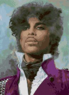 Smoky Prince portrait Cross Stitch pattern PDF EASY chart