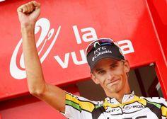Velits podio - Vuelta 2010
