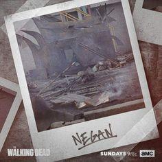 The Walking Dead - Divulgada a foto polaroid que Rick tirou de Negan! - Legião dos Heróis