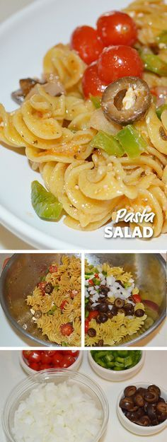 There are not many things that scream summertime BBQ more than pasta salad. #Salads #Recipes #Summer #PastaSalad