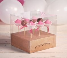 how to make gift box cake pops | Ideas / Where to buy boxes for cake pops