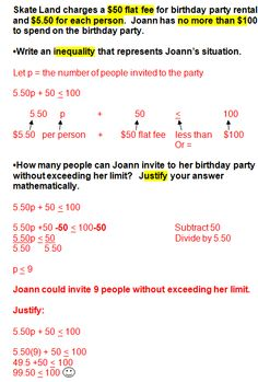 8th grade math word problems Word math problems with solutions and full explanations for grade 8 are presented.