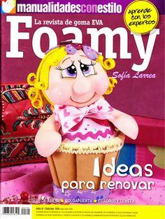 Revista de goma EVA FOAMY - ideas para renovar