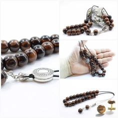 Brown Obsidian, Komboloi, Worry Beads, Greek Komboloi, Obsidian Gemstone, Gift for Dad, Tesbih, Gift from Greece, Gift Wrapping, Gebetskette  #ObsidianKomboloi #Komboloi #MadeInGreece #WorryBeads #Gebetskette #GreekKomboloi #BrownObsidian #GiftForHim #GiftForDad #GiftWrappingOption Men's Jewelry, Gifts For Dad, Decorative Items, Men's Style, No Worries, Greece, Wraps, Gift Wrapping, Mens Fashion