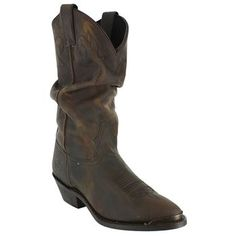 Love these slouch boots by Double H!