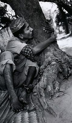 Mary Ellen Mark - The Man Who Loved His Tree. Uttar Pradesh, India 1989. S)