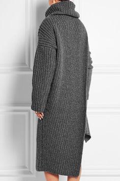 Stella McCartney | Ribbed wool-blend turtleneck dress | NET-A-PORTER.COM