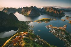 There are so many beautiful places in Norway to visit. I mean, you've got the Troms region in the very north, Alesund on the west coast and lovely little places like Flåm that are nestled