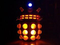 Dalek Jack-o'-Lantern