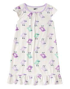 Bird Pajama Gown at Crazy 8