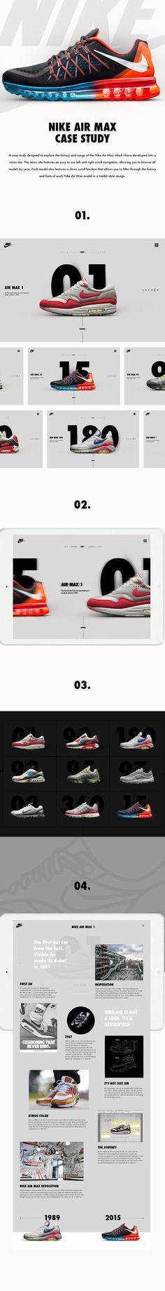 Nike Air Max Case Study by Shaun Gardner
