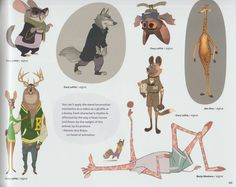The Art of Zootopia concept art book *update more pages* UPDATE