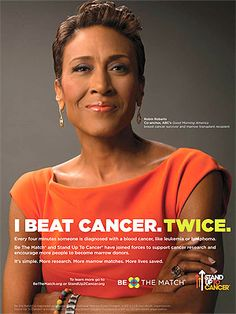 Robin Roberts Urges Americans to Join the Bone Marrow Registry in New PSAs
