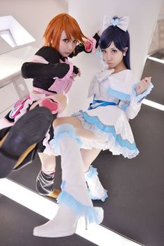 Cure Black and Cure White    ~  The first Precure... *¬*  ~